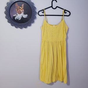 OLD NAVY | Ladies Floral Yellow Summer Dress